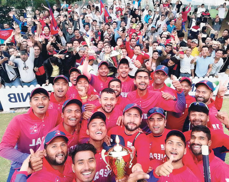 Nepal wins historic T20I series to complete a clean sweep against UAE