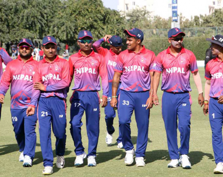 Nepal levels T20 series after defeating UAE by 4 wickets