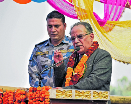 Dahal woos Madhes with amendment talk