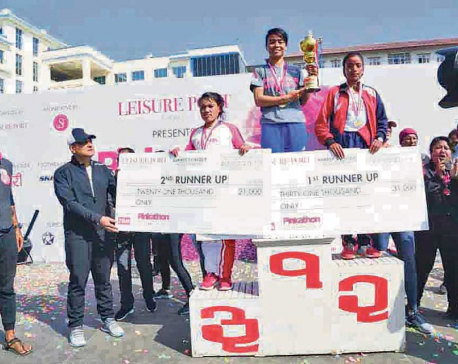 Kanchhi Maya Koju wins Pinkathon Marathon for third straight year