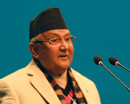 PM Oli addresses nation, marking the completion of one year