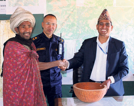 Raute group meets officials seeking food aid