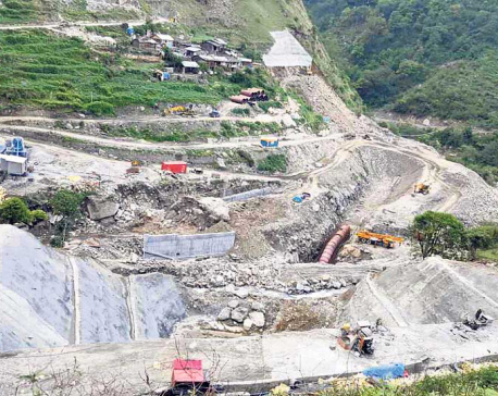 80 percent work at Upper Sanjen project complete