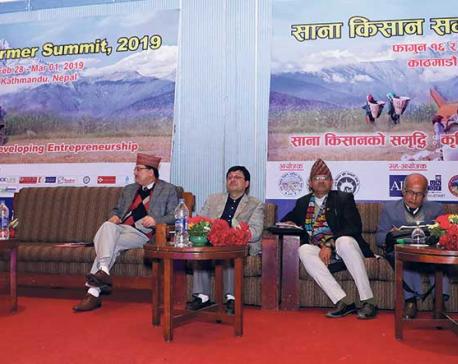 Small Farmers' Summit kicks off