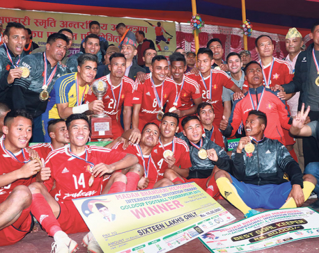 Army lifts Madan Bhandari Gold Cup