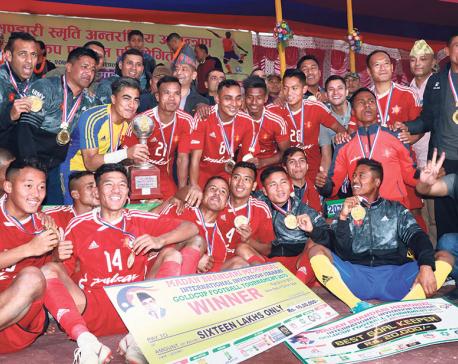 Army lifts Madan Bhandari Gold Cup