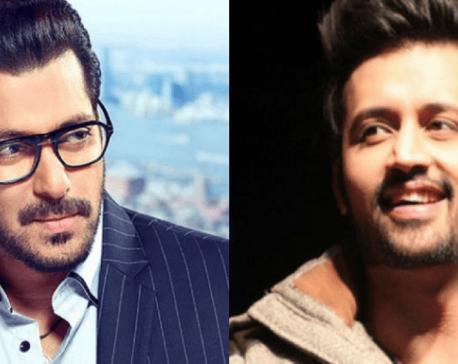 """Salman Khan to sing 'Notebook' song """"Main Taare"""" replacing Atif Aslam?"""