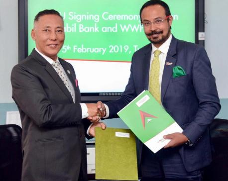 WWF Nepal-Nabil Bank partnership
