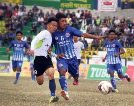 Host Dharan stuns Sankata to reach Budha Subba Gold Cup final