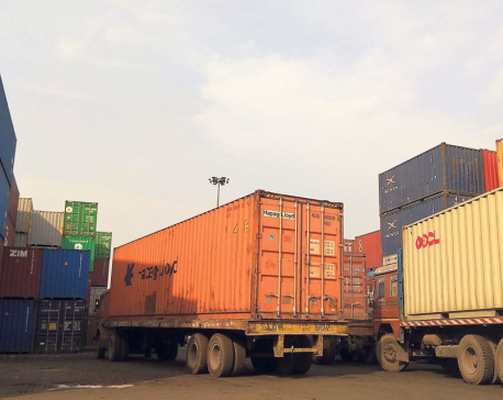 Indian transporters' protest halts Nepal-bound cargo