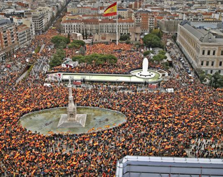 Catalan separatists' long-awaited trial begins in Madrid