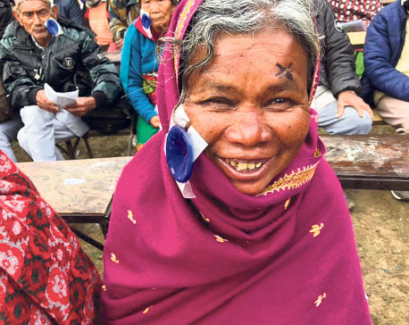 Patients elated to regain lost eyesight