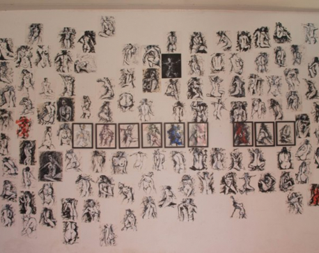 Kapil Mani Dixit's '500 Nudes': Expressing the beauty of a human body