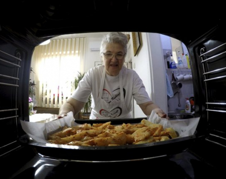 Granny Jela draws millions in Serbia with online cooking