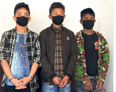 Three juvenile home escapees caught