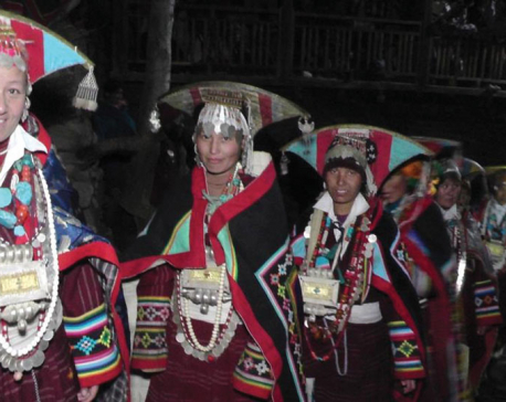 Lamas of Humla celebrate 'Mane' festival with gusto