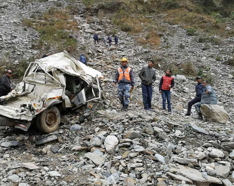 Prime Minister Oli expresses sorrow over Darchula jeep crash