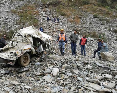 Prime Minister Oli expresses sorrow over Darchula jeep crash