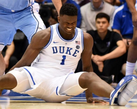 Nike stumbles into social media storm after basketball star's shoe splits