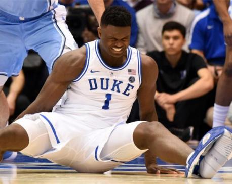 Nike stumbles into social media storm after basketball star's shoe splits