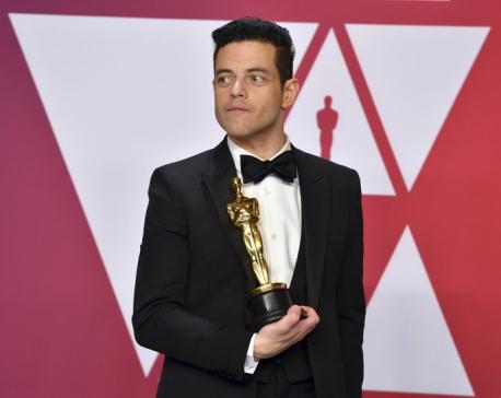 Rami Malek wins best actor Oscar for 'Bohemian Rhapsody'