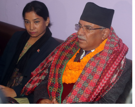 "Dahal defends his statement on Venezuela after PM labels it a ""slip"""