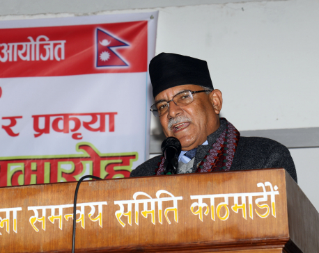 Dahal warns of another conflict as relations turn sour