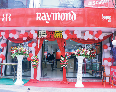 Raymond opens new outlet in Jawalakhel