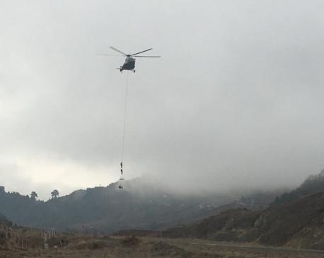 Rainfall, snowfall affects rescue operation at Suketar