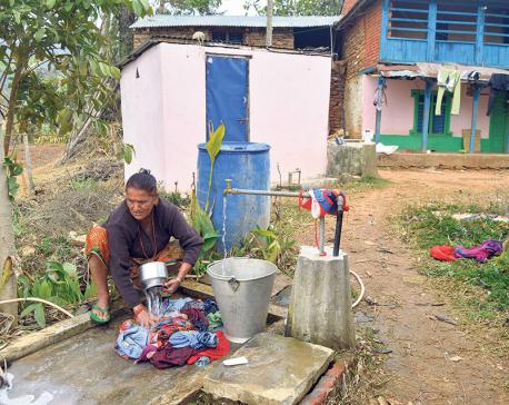 Locals of Beltar get water taps at doorstep
