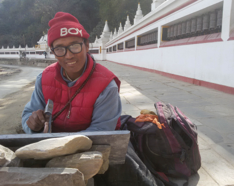 Gyanmey Dorje, the Sculptor from Dolpa