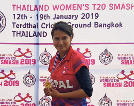 Debutant Bidari spins Nepal to dominant win over Thailand A