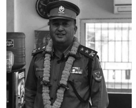 APF SP Pokharel killed in road accident