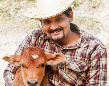 I have a deep attachment with cows: Bipin Karki