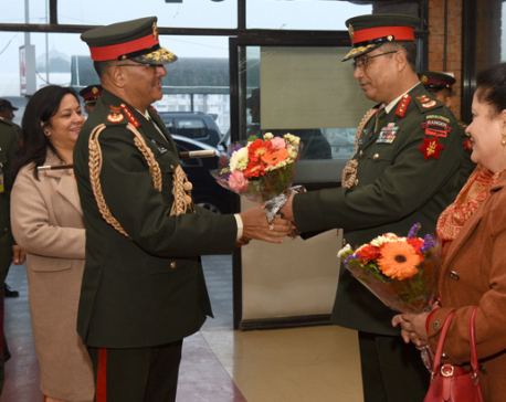 CoAS Thapa leaves for six-day visit to India