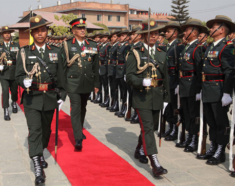 CoAS Thapa returns home wrapping up his six-day India visit