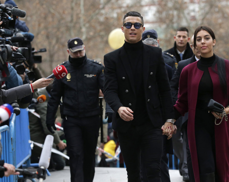 Ronaldo pleads guilty to tax fraud at Madrid court