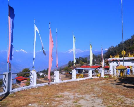 Okhreni wears stunning look following Gorkha quake (photo feature)