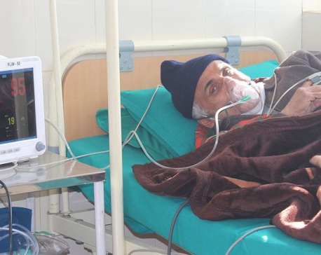 Dr Govinda KC admitted to hospital