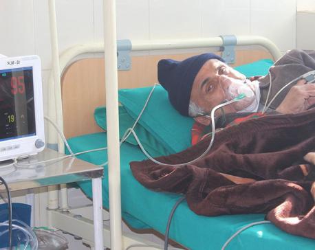 Dr Govinda KC admitted to hospital