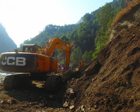 Rural roads being constructed in Rolpa without following procedures