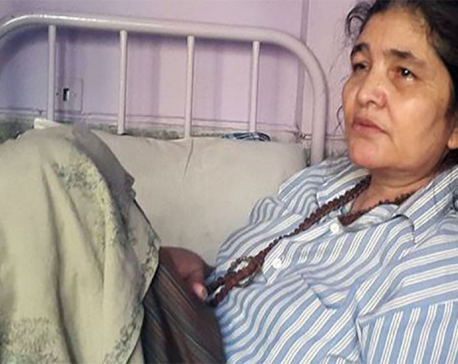 Ganga Maya to call on int'l community for her son's justice
