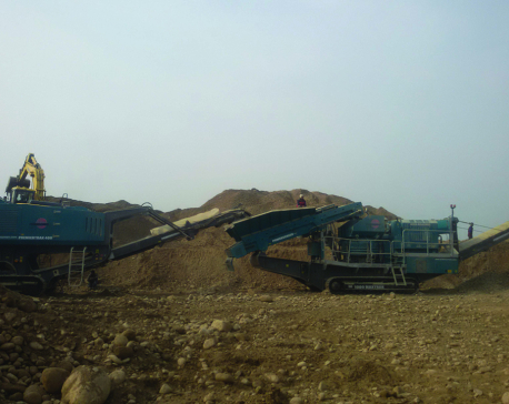 Haphazard mining of river resources in Kailali