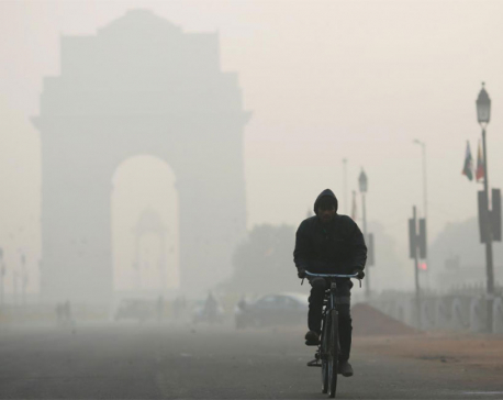 Rain clears smog in Indian capital yet air quality 'very poor'