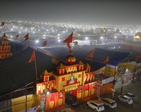 India's mega Hindu festival begins under cloud of toxic air