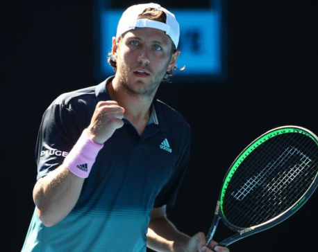Pouille beats odds and Raonic to reach maiden semis