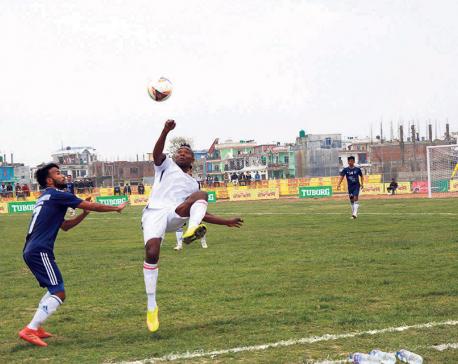 Kakarbhitta into Madan Bhandari semis after tiebreaker win