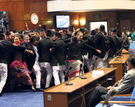 MPs scuffle as govt tries to force Medical Education Bill through