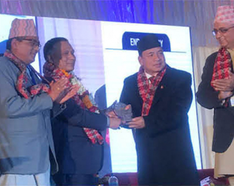 Kulman Ghising recognized for ending power crisis in country
