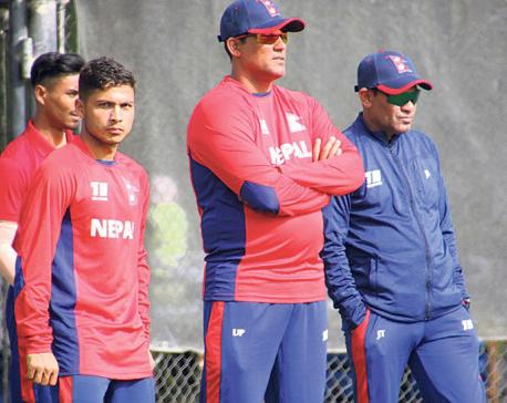 In-form Nepal starts as favorite against UAE in T20I series